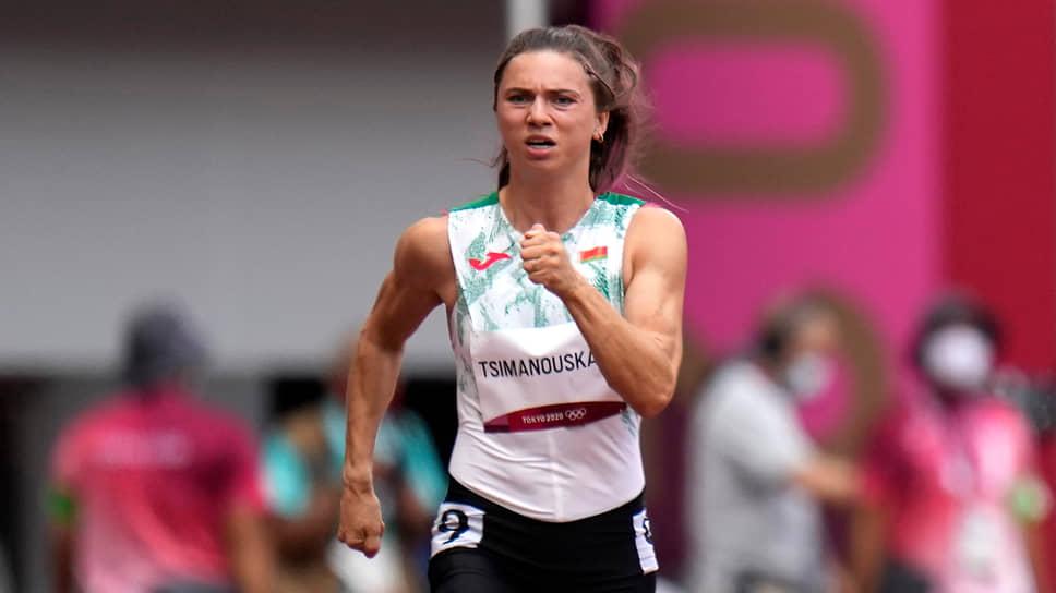 30 июля Кристина Тимановская пробежала стометровку за 11,47 секунд
