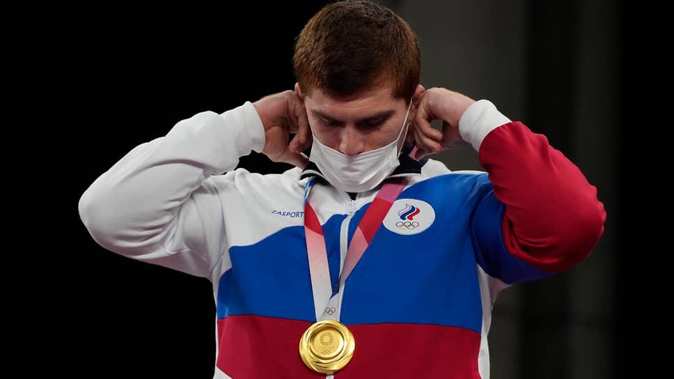 Борец Муса Евлоев