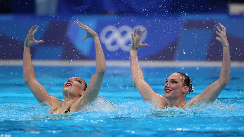 Светлана Колесниченко (слева) и Светлана Ромашина