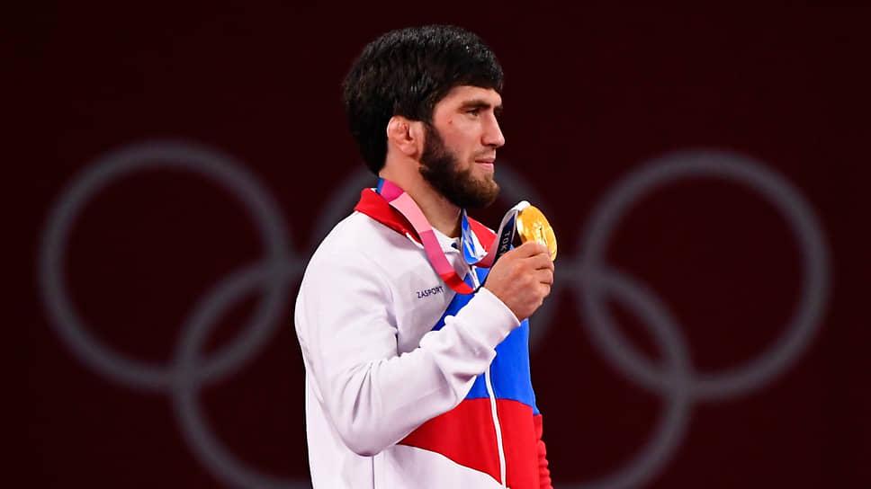 Борец вольного стиля Заур Угуев