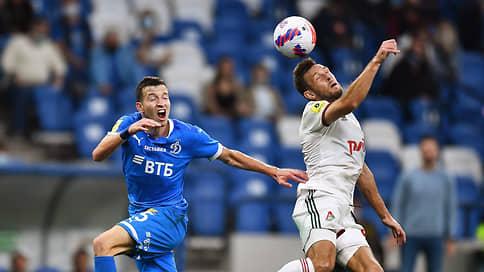 Динамо сыграл вничью с Локомотивом в матче РПЛ