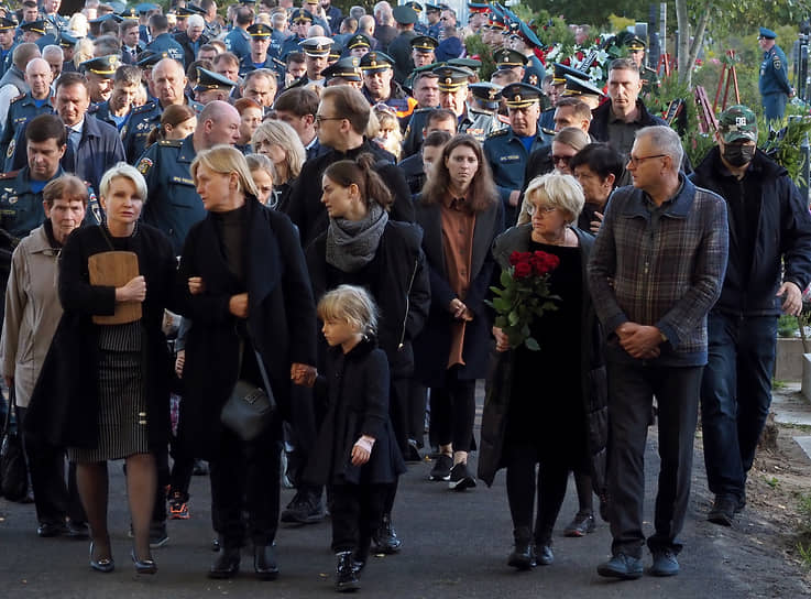 Церемония прощания с Евгением Зиничевым