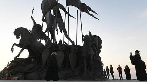 В Псковской области открылся мемориал Александру Невскому