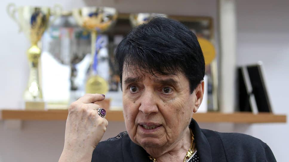 Нона Гаприндашвили в 2019 году