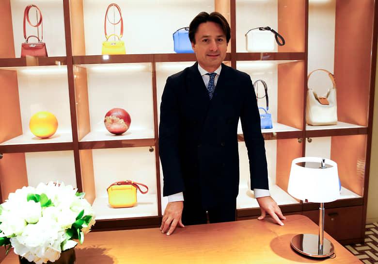 Президент дома моды Hermes Аксель Дюма
