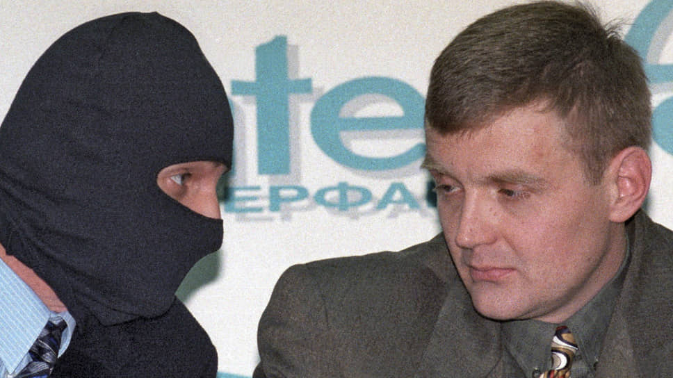 Александр Литвиненко (справа)