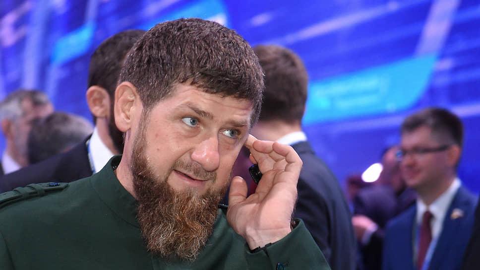 Рамзан Кадыров в 2018 году