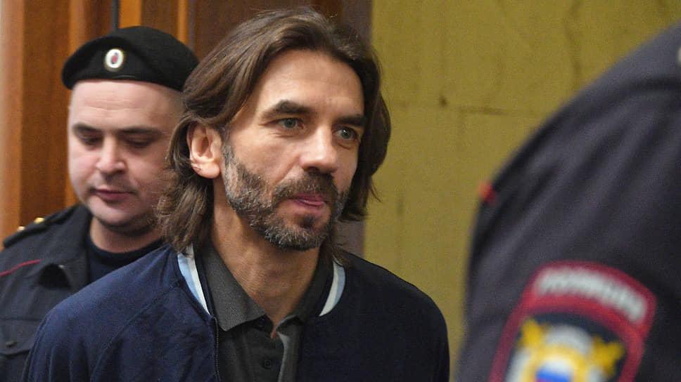 Михаил Абызов на заседании суда в 2020 году