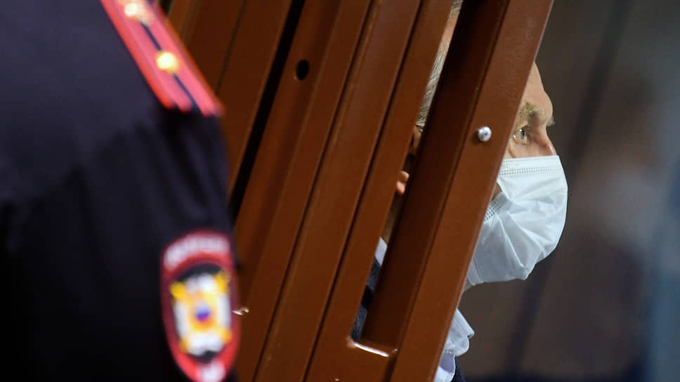 Олег Соколов на оглашении приговора в декабре 2020 года