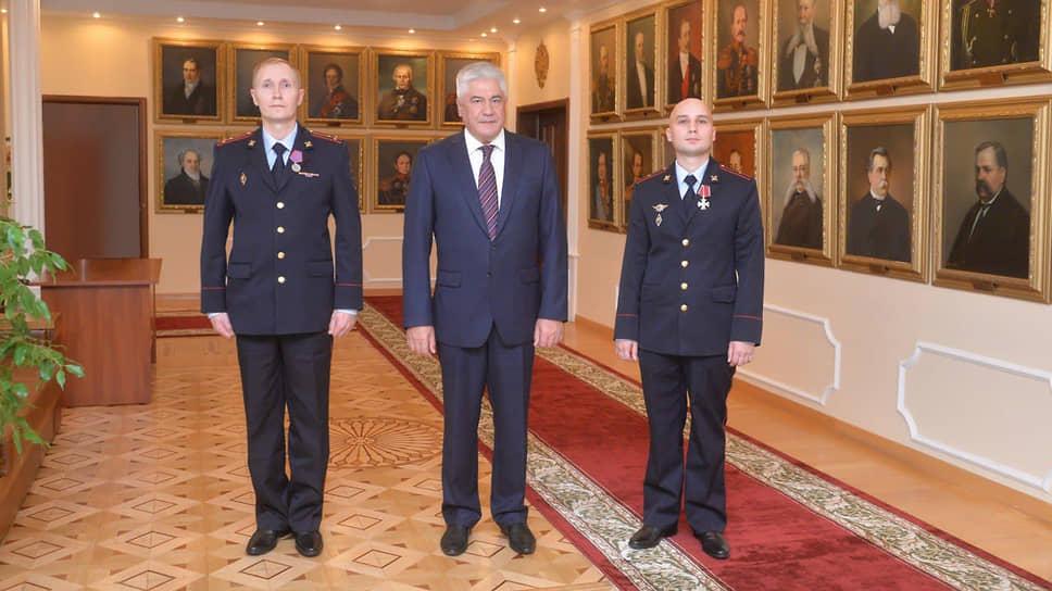 Владимир Макаров, Владимир Колокольцев и Константин Калинин