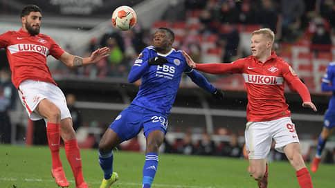 Лестер обыграл Спартак в Лиге Европы благодаря четырем голам Даки  4:3