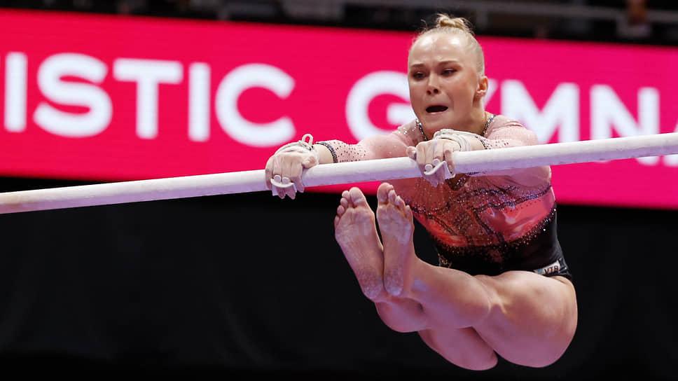 Россиянка впервые за 11 лет выиграла золото ЧМ по спортивной гимнастике в многоборье