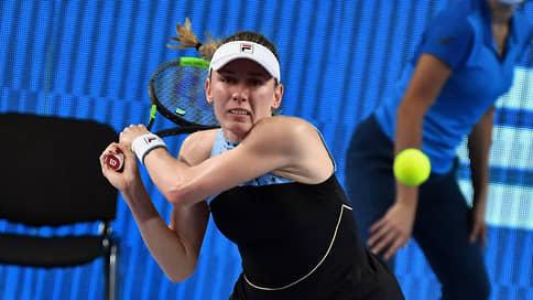Александрова сыграет с эстонкой Контавейт в финале Кубка Кремля