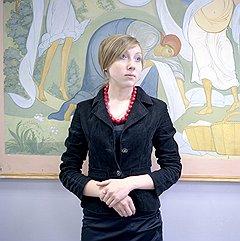 Юля Сафонова, будущий художник — мастер лаковой миниатюры