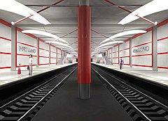 Такой проектировали станцию «Мякинино» (на фото), какой она окажется на самом деле, москвичи узнают 26 декабря после того, как закончится строительство
