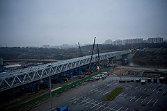 Такой проектировали станцию «Мякинино», какой она окажется на самом деле, москвичи узнают 26 декабря после того, как закончится строительство