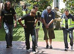 Александр Малышев (в Питере его помнят еще и по кличке Малыш) оказался в испанских наручниках