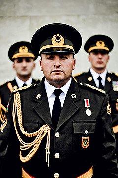 Автандил Намазов, капитан. Дед воевал в пехоте