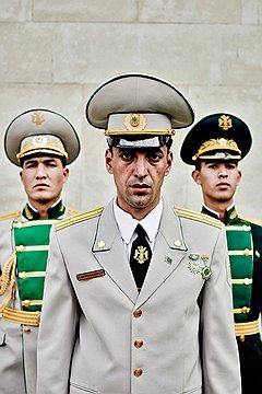 Башмурат Бердиназаров, майор. На войне его дед был пехотинцем, снайпером