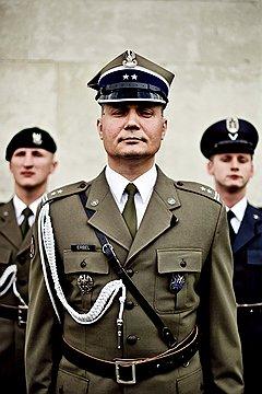 Войтек Эрбел, подполковник. Дядя воевал с фашистами в составе польских соединений