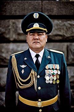 Кайдар Каракулов, на параде в Москве был еще подполковником, но уже знал о присвоении ему звания полковника