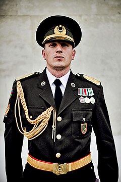 Самир Аллахвердиев, рядовой роты почетного караула