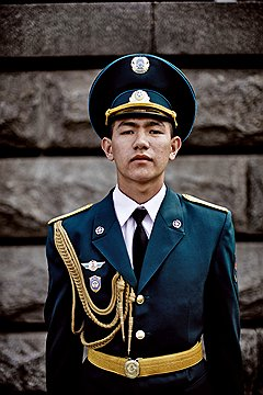 Халил Баймаганбетов, рядовой. В 1942 году его дед ушел добровольцем в Красную армию. Освобождал Ригу