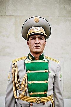 Максай Хангельдыев, старшина роты почетного караула