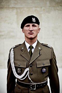 Мирослав Мекка, старшина роты почетного караула