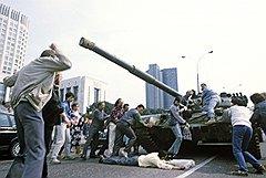 Так в августе 1991-го москвичи встретили танки