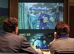 Российские космонавты Александр Калери, Федор Юрчихин и Олег Скрипочка приняли участие в переписи на борту орбитальной станции