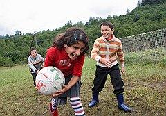Молодежи в селе Отап почти не осталось. Но Илону Маршан и ее мужа это не останавливает — они развивают туристические маршруты в абхазские горы и не собираются спускаться вниз, к морю