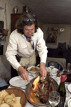 Лакарены хоть и живут на Украине, но признают только французскую кухню