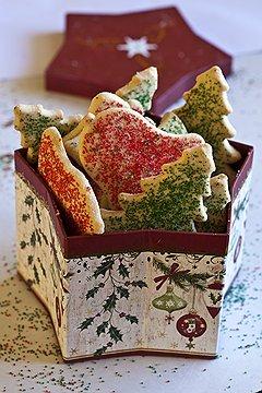 Рождественское сахарное печенье