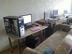 Так выглядел скамерский офис, накрытый оперативниками в Йошкар-Оле.