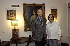 Король Михай и королева Анна в швейцарской резиденции