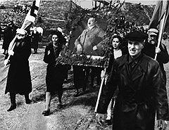 Демонстрация в Смоленске в день рождения Гитлера