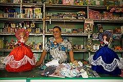 Продавщица Галина Сопига привыкла, что к половине покупателей нужно обращаться «отец»