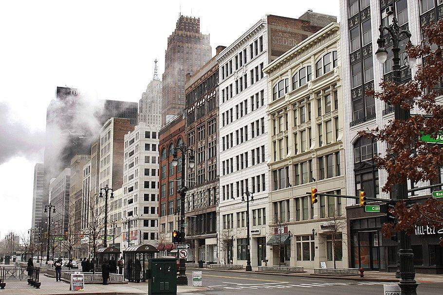 """Детройт — столица """"Ржавого пояса"""" Америки"""