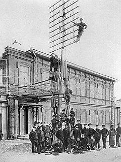 Здание телефонной станции в перми. 1912 год