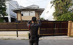 Тайская полиция внимательно изучает взрывы в Бангкоке. Они прогремели рядом с посольством Израиля