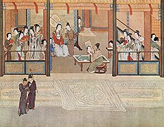 В Китае на вершине иерархии продажной любви — чайные дома и дома певиц