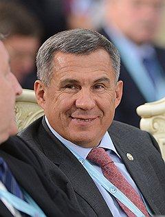 Рустам Минниханов, президентом Республики Татарстан