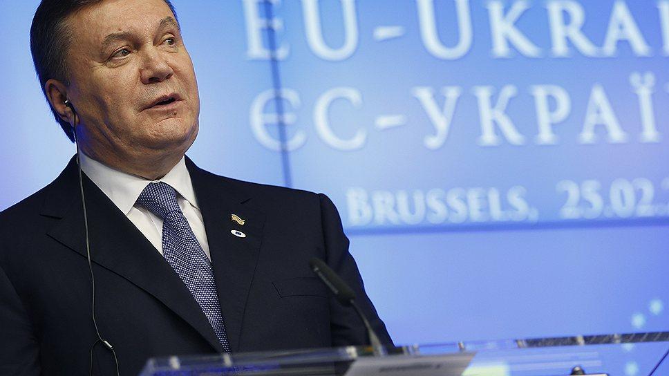 Президент Янукович достиг высокого уровня в политической эквилибристике