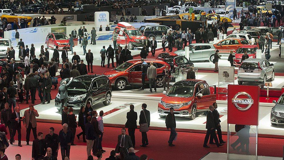 Посетители Женевского автосалона смогут увидеть как готовые к производству модели, так и перспективные разработки