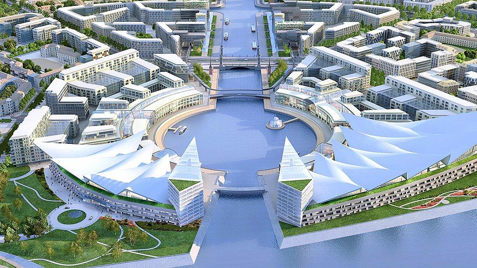 """Проект первого в России """"умного города"""" под названием """"Новый берег"""""""