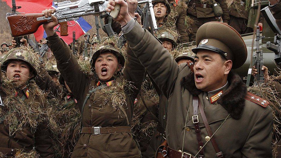 Идеология вряд ли делает бойцов Северной Кореи сильнее, но злее-- точно