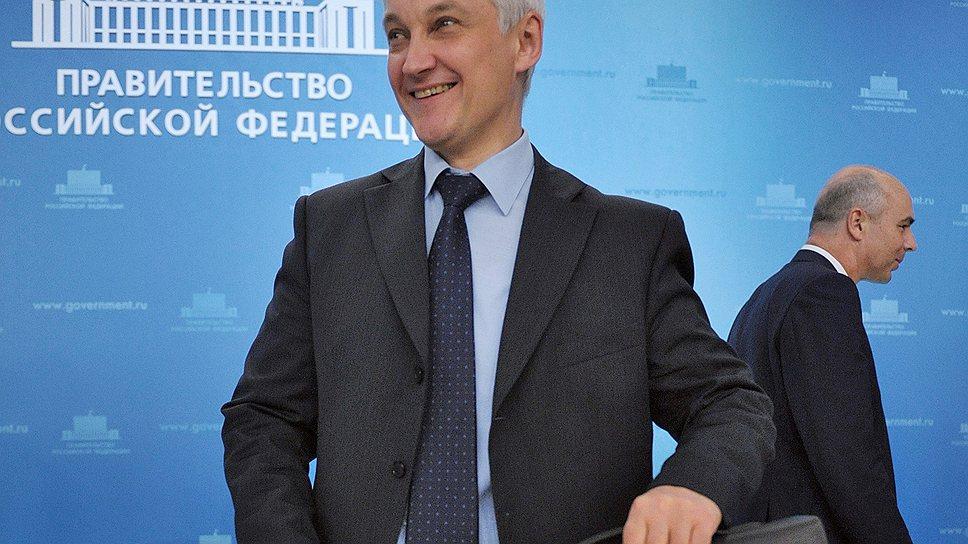 Лишившись министерского портфеля, Белоусов только выиграл