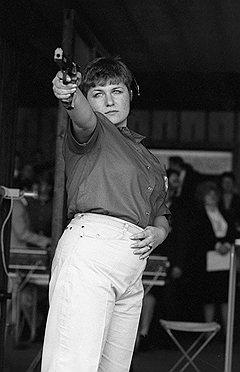 С пистолетами Ижмеха Марина Добранчева завоевала пять олимпийских медалей