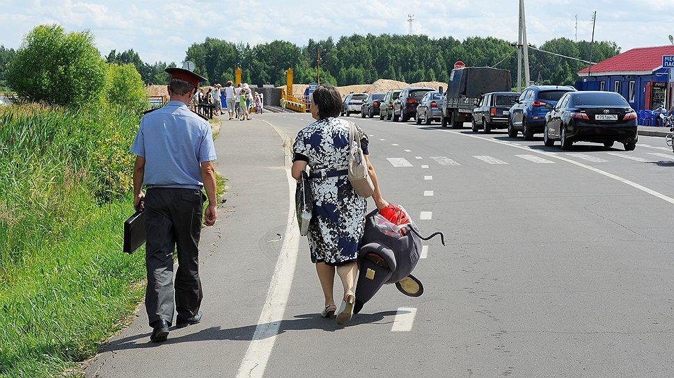 На праздники в Мышкин приезжает много туристов
